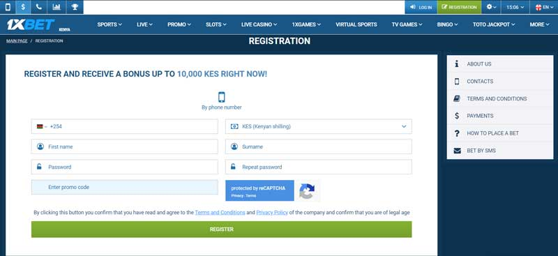 1XBET LOGIN Kenya → 1xbet registration bonus 130$