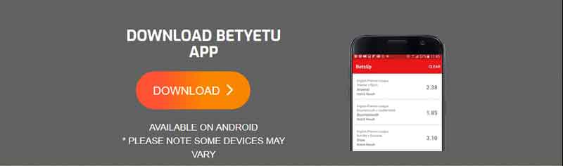 betyetu mobile app registration and login