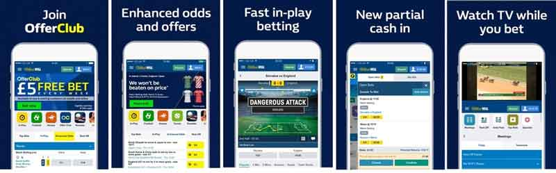 William Hill login Mobile